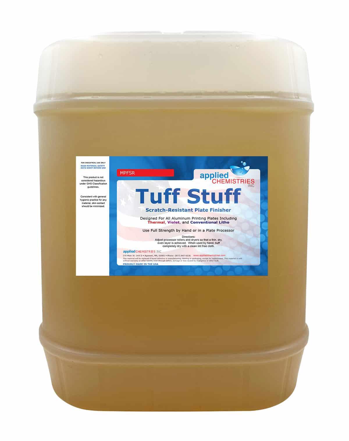 Tuff Stuff! Scratch Resistant Plate Finisher