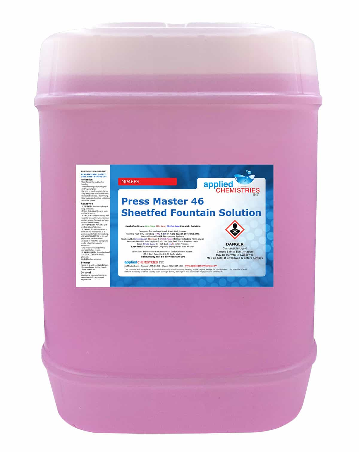 MP 46 Sheetfed Fountain Solution
