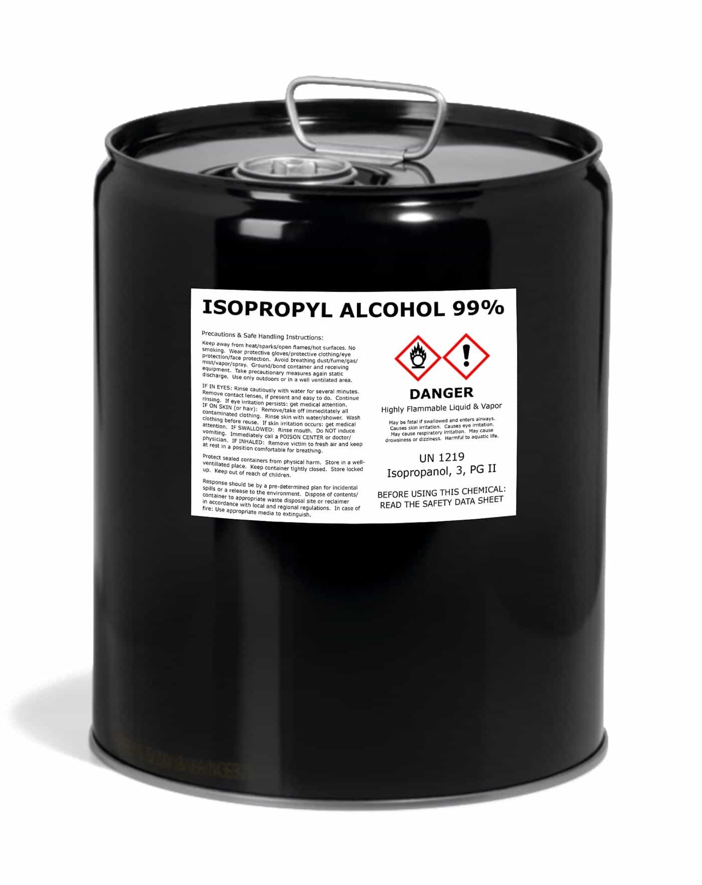 99% Pure Litho Grade Isopropyl Alcohol