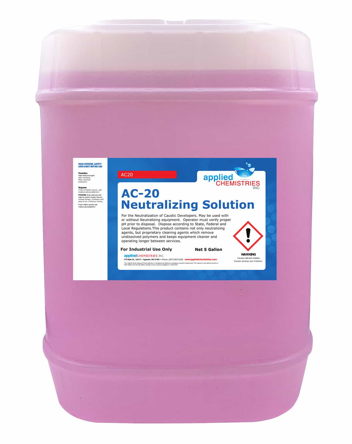 Neutralizing Solutions AC-20