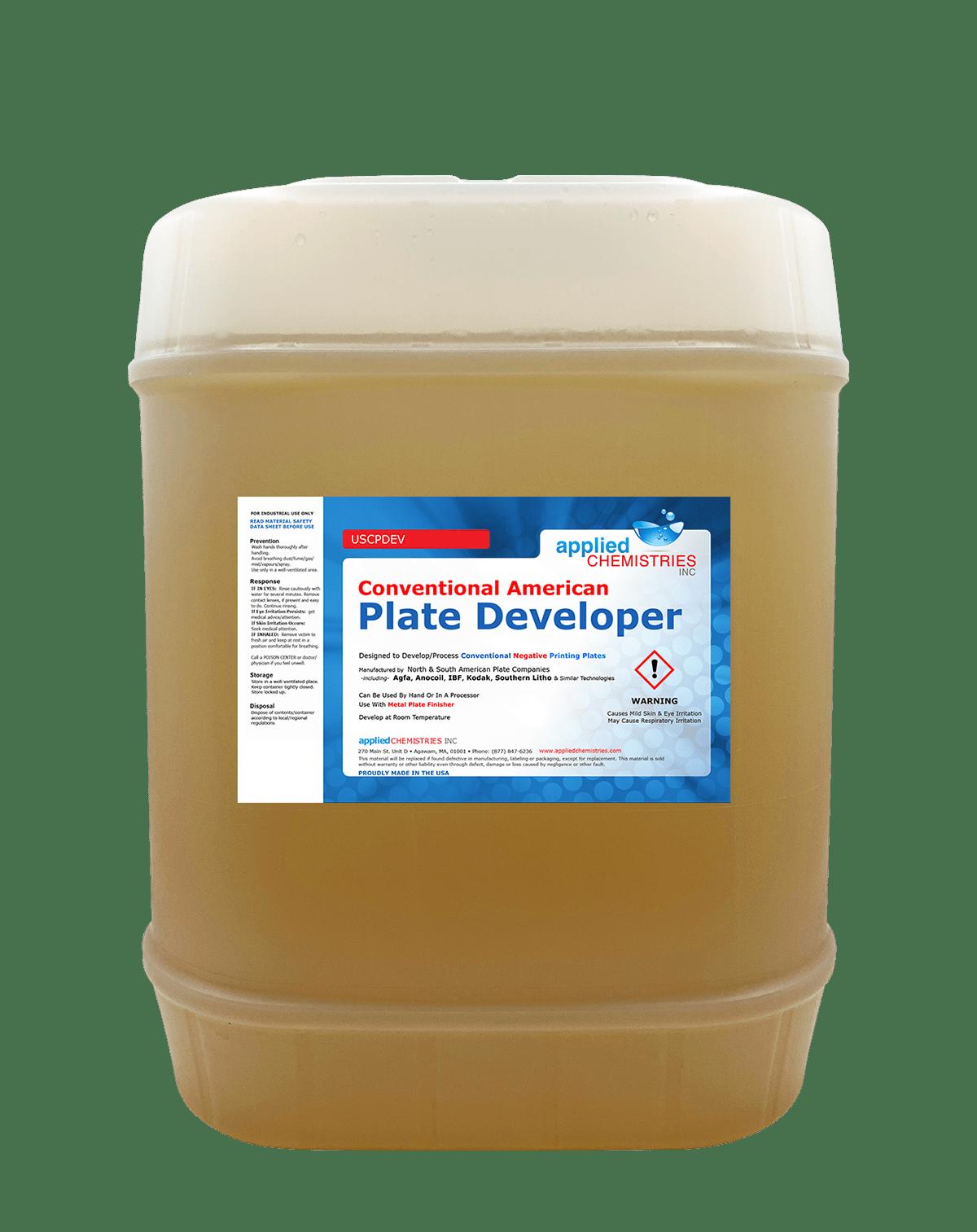 Plate Developer Home